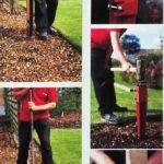 Mocowanie słupków ogrodowych