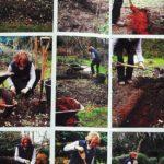 Przekopywanie gleby - przebieg prac - Przygotowanie miejsca