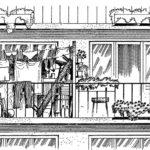 Balkon podwójny