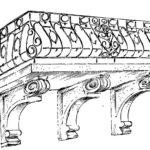 Balkon z okresu neoklasycyzmu (początek XIX wieku)
