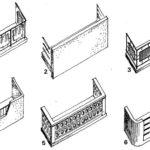 Balustrady wykonane z połączenia różnych materiałów