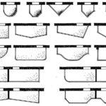 Kształty płyt balkonowych w rzucie poziomym