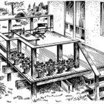 Przykład rozwiązania tarasu o konstrukcji drewnianej