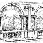 Renesansowa loggia pałacowa