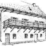Stary dom w Kazimierzu nad Wisłą