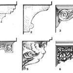 Wsporniki balkonów różniące się kształtem i materiałem